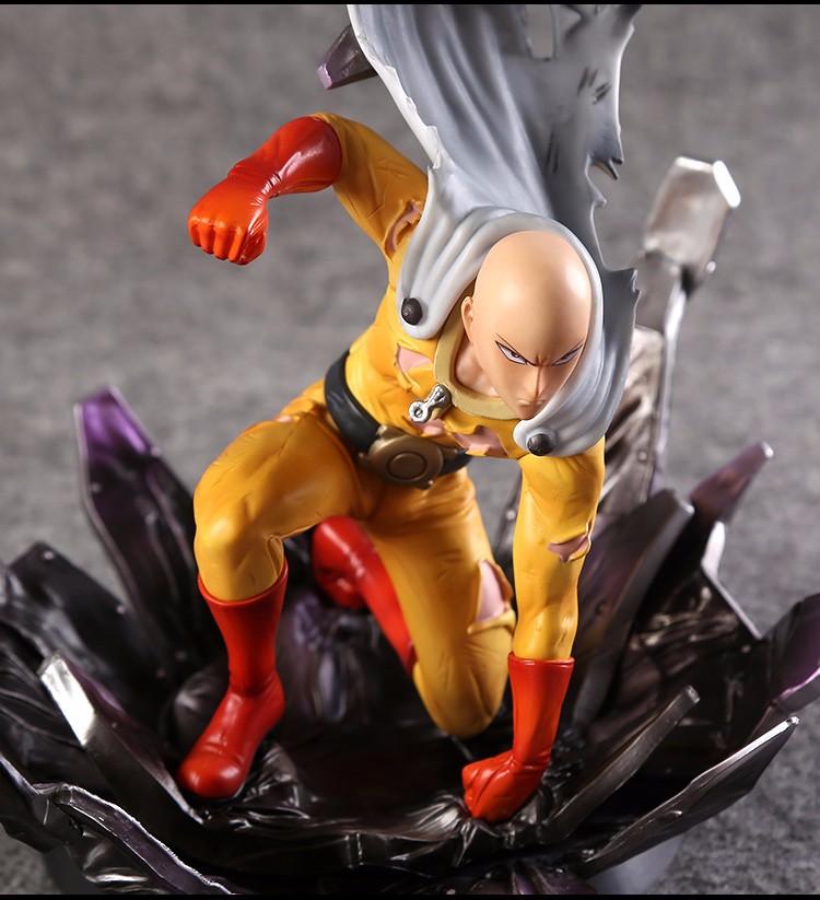 One Punch Figure Saitama Sensei One Punch Man Figure PVC 3