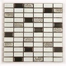 Kepinfy прямоугольная керамическая мозаичная плитка используется для ванной комнаты, кухни, гостиной, балкона, украшения стены фона