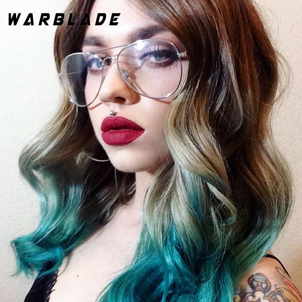 WarBLade Band Bril Lichtmetalen Gouden Frame Brillen Klassieke Optiek - Kledingaccessoires - Foto 4