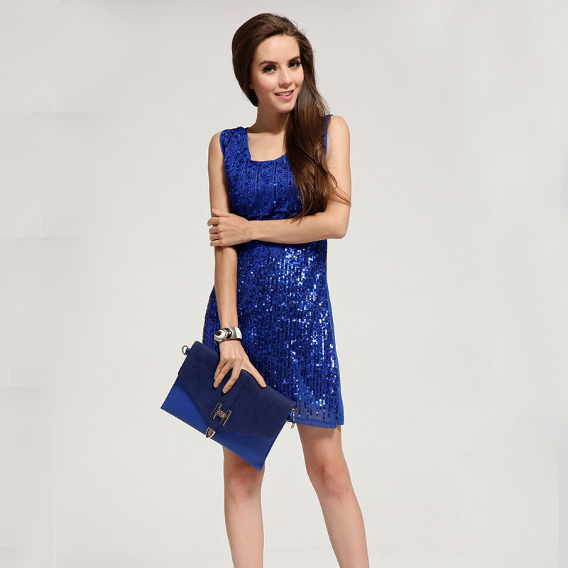 Buy Cheap new fashion Top Quality Diamond Club dress sequin beading lady dresses dropshipping LM6021ES