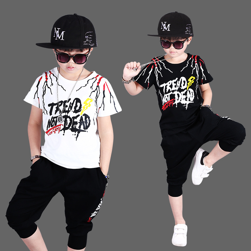 2018 Kids Clothes Boys 3 4 5 6 7 8 9 10 12 Years Short Toddler Boy Summer Clothes Suit Children Clothing Cotton Full Promotion yellow dino boy clothes set roar children t shirt plaid pant suit kids outfit 100% cotton tops panties 2 3 4 5 6 7 year clothing