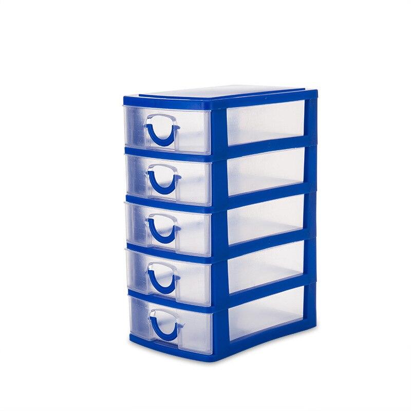 Organizer-Holder Cabinets Storage-Box Detachable Jewelry Desktop Objects Plastic Small