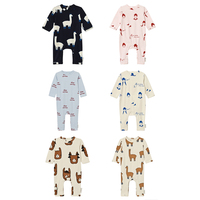 Llama Heads One-Piece 2017 6 colors for baby kids clothing