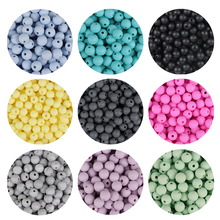 TYRY.HU 10pc 9mm Baby Chewable Food Grad Silicone Beads DIY Baby