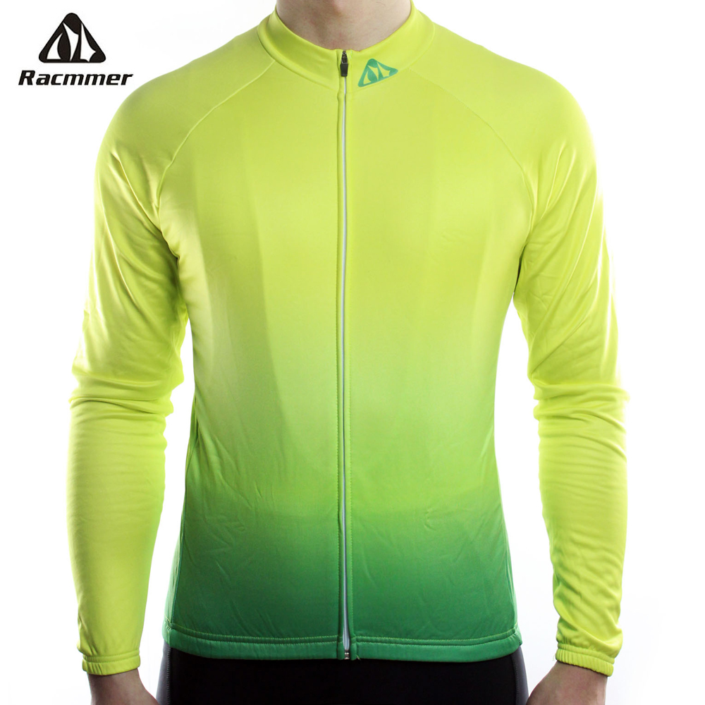 Racmmer 2019 Long Sleeve Pro Cycling Jerseys Men Mtb Clothing Bicycle Maillot Equipacion Ciclismo Sportwear Bike Clothes #CX-17