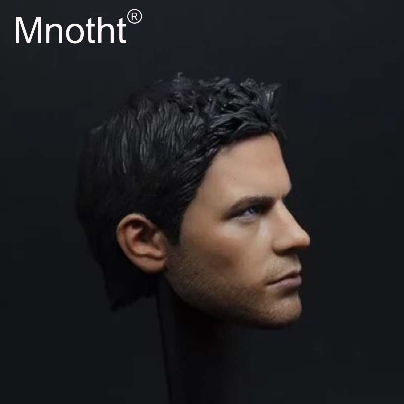 Mnotht Head Carving Mode Toys 1/6 Scale A04 Chris Sen Head Sculpt For 12in Male Body Action Figures Accessories m3 mnotht head sculpt 1 6 scale ant man paul rudd head sculpt for hot toys phicen male body in stock action
