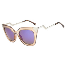 Fashion New Retro Cat Eye UV Protection Curved Legs Cool Driving  Unisex Sunglasses High Quality Eyeglasses