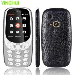 For Nokia 3310 Case Nokia 3310 phone bag case Luxury Crocodile Skin PU Protective Case Cover For Nokia 3310 2017