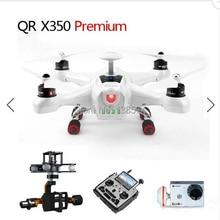 Walkera QR X350 Premium FPV RC Quadcopter Drone +DEVO F12E+G-3D+ILOOK+