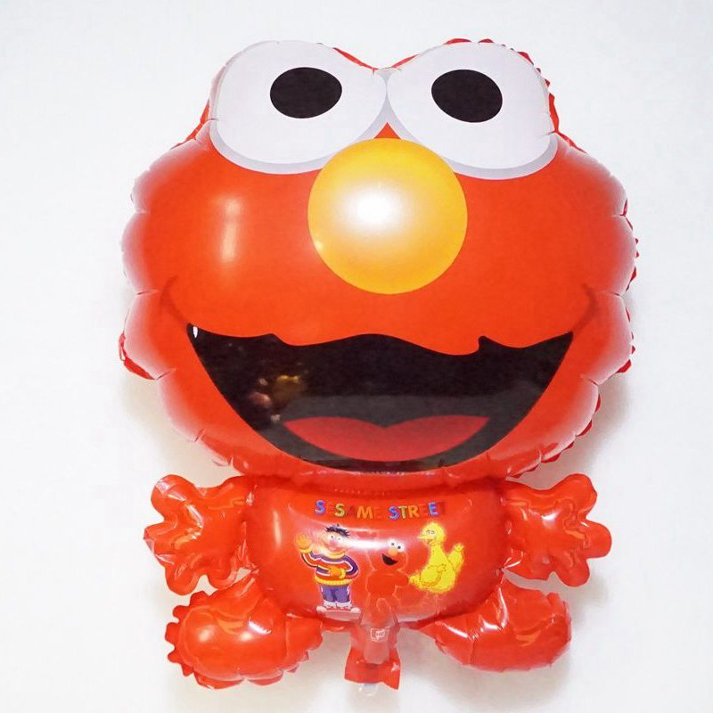 ᑎ‰5 Unid 18 pulgadas dibujos animados Sesame Street Elmo forma ...