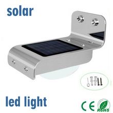 New Generation 16 LED Solar Energy Bright PIR Human Body Motion Sensor Induced Home Security Lamp Outdoor Light