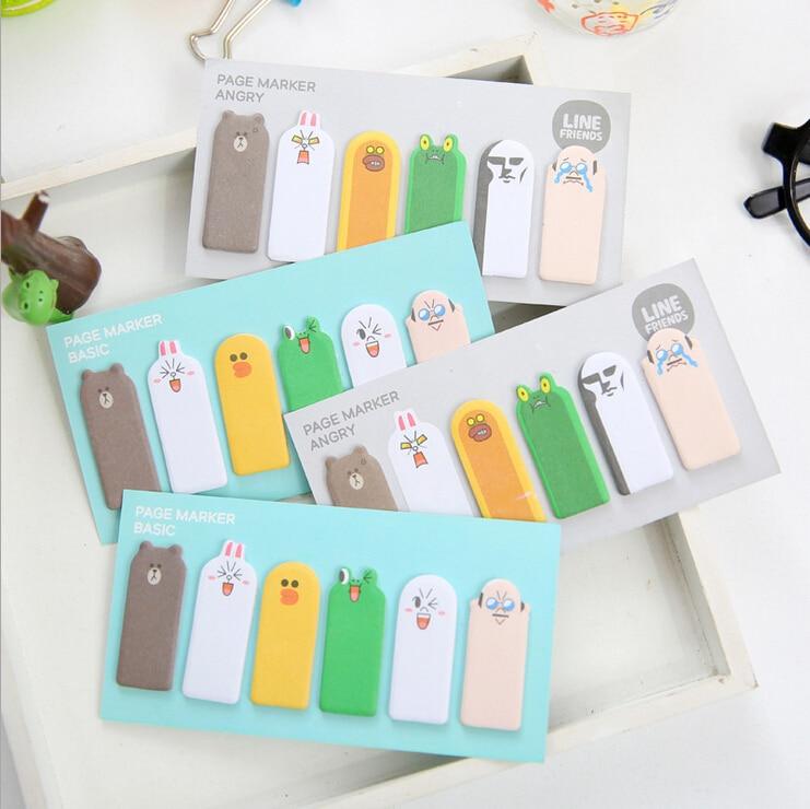 decorative office supplies. 1 piece new korean cartoon kawaii diy finger memo pads sticky notes stationery post filofax office supplies school decoration decorative o
