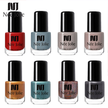 NEE JOLIE Summer Glitter Nail Polish 3.5ML Ordinary Lacquer Mirror Effect Fast Dry Varnish for Art Decorations