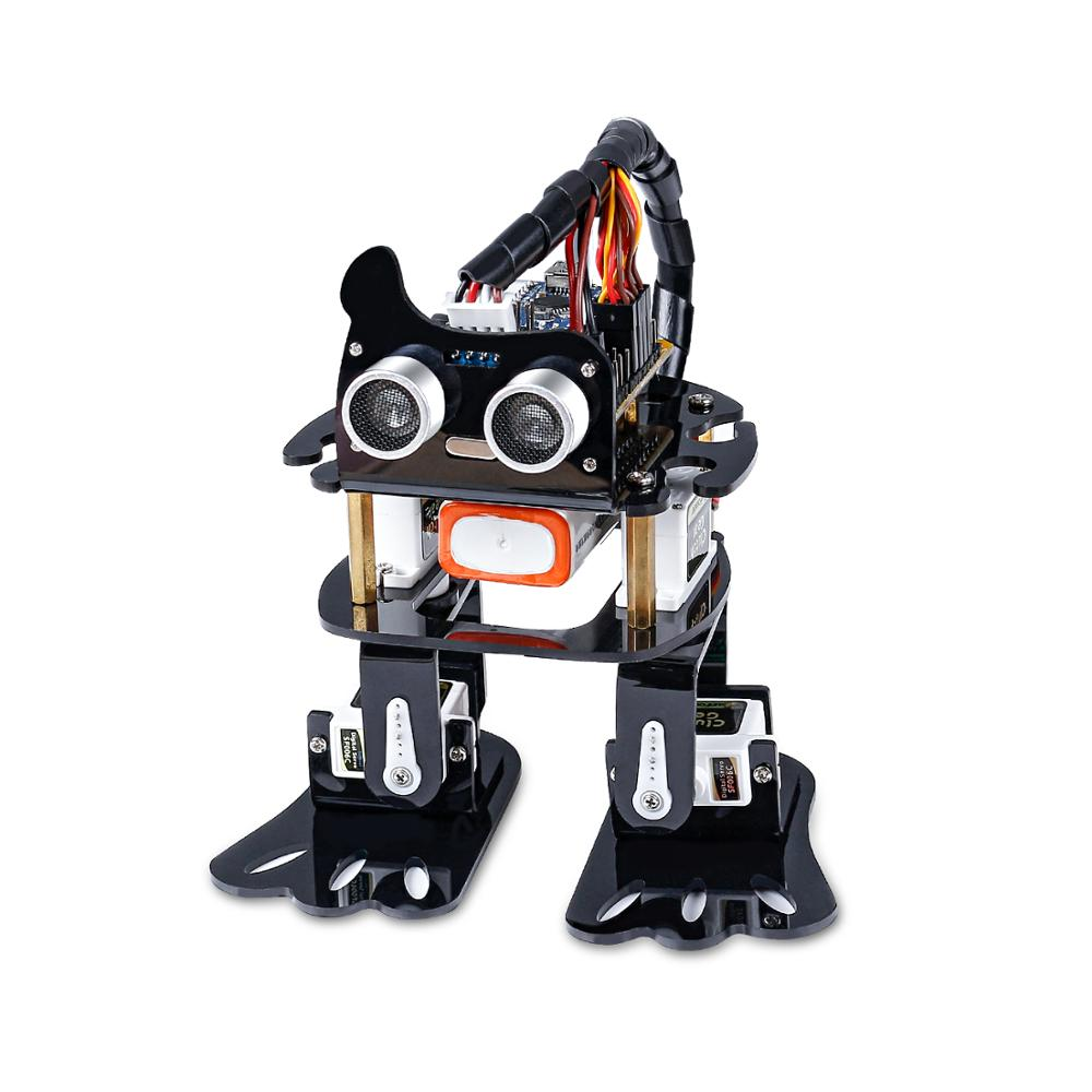 SunFounder Smart Programmable Dancing DIY Robot For Arduino Kids And Adults