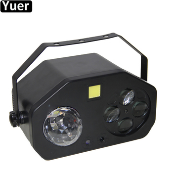 New Disco Ball Laser Strobe Spot Beam 4IN1 LED Stage Effect Light DMX512 DJ Light Sound Party Club Wedding Music Effect Lighting disco beam laser light professional remote dmx512 red 200mw stage lighting scanner dj party show xmas light led effect projector