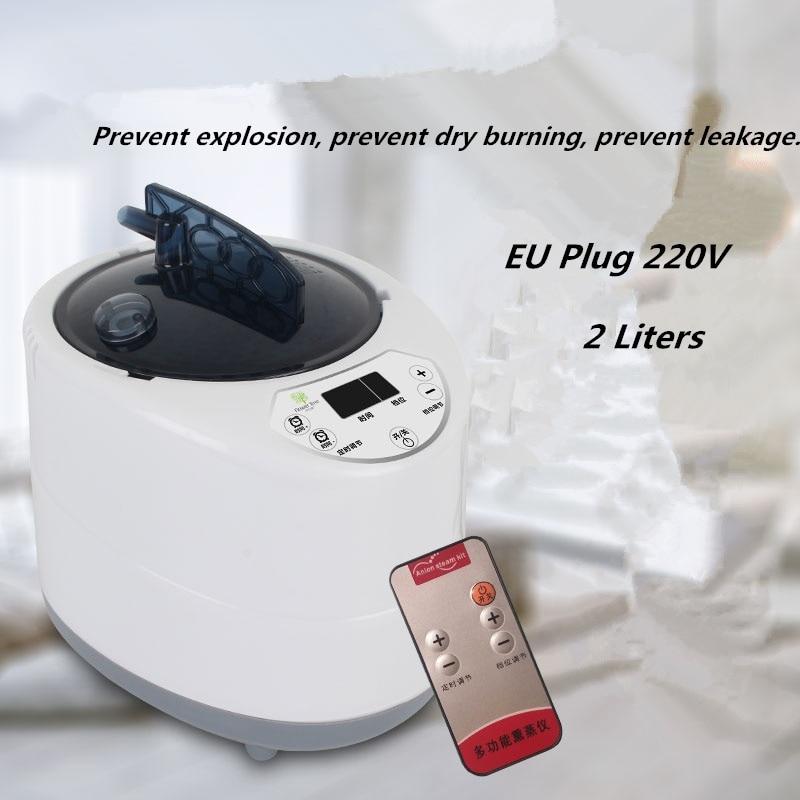 Portable Sauna Personal Therapeutic Steam Sauna SPA Heater Slimming Detox EU US Plug Steam Wet Sauna Home Spa Sauna Steam Box in Sauna Rooms from Home Improvement