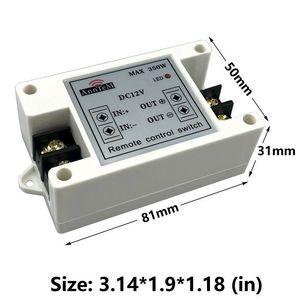 Image 4 - รีโมทคอนโทรลไร้สาย 433 mhz เครื่องส่งสัญญาณ rf 12 v Universal Power Circuit Controller รถ led Strip Light