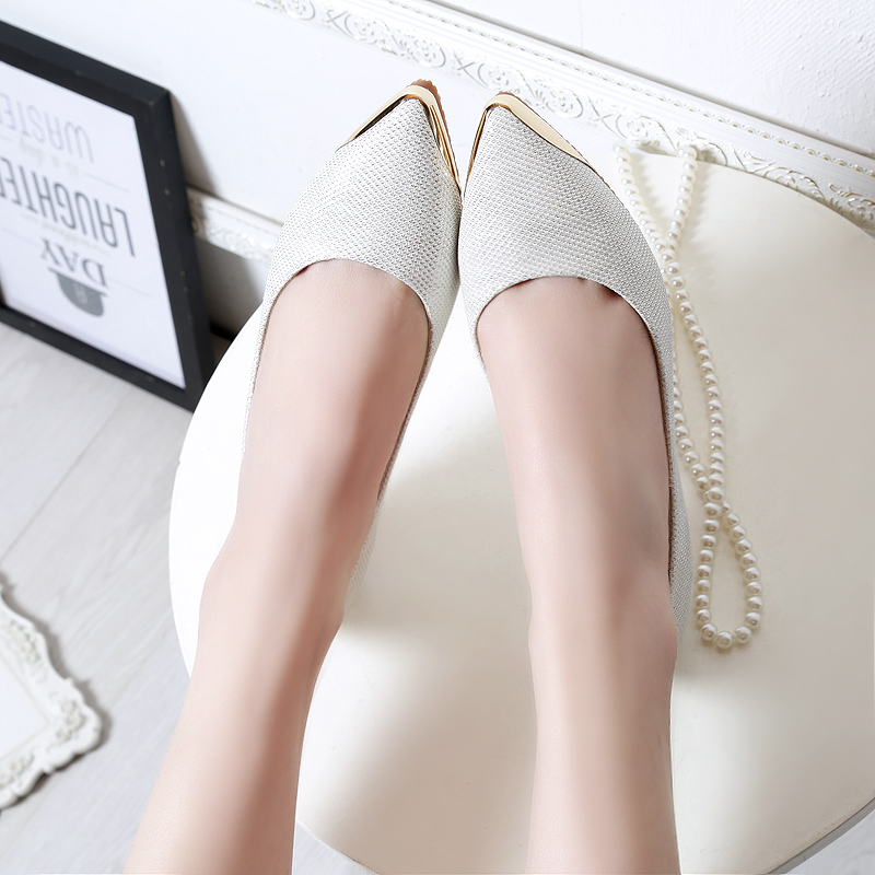 Confortable Slip On Flat Bottom Walking Shoes