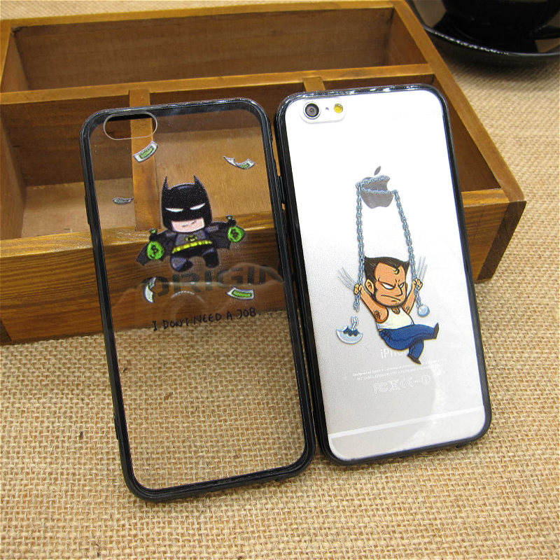 iphone 5s cases for guys fashion batman wolverine character back covers for 17462