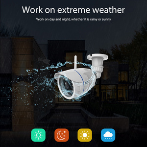 Image 3 - 720P IP Camera Wireless Wifi network Surveillance Camera Outdoor Waterproof Compatible with Alexa Echo Show and Google Home
