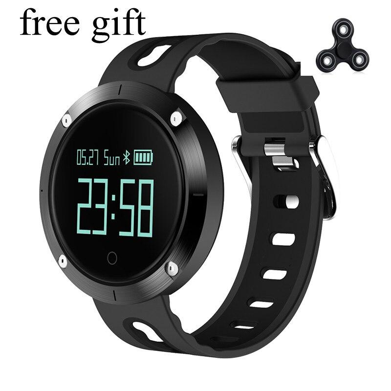 DM58 Smart Armband IP68 Wasserdichte Blutdruck Herz Rate Monitor Anruf Re mi nder Sport Smart tracker PK GT08 DZ09 mi 2 band