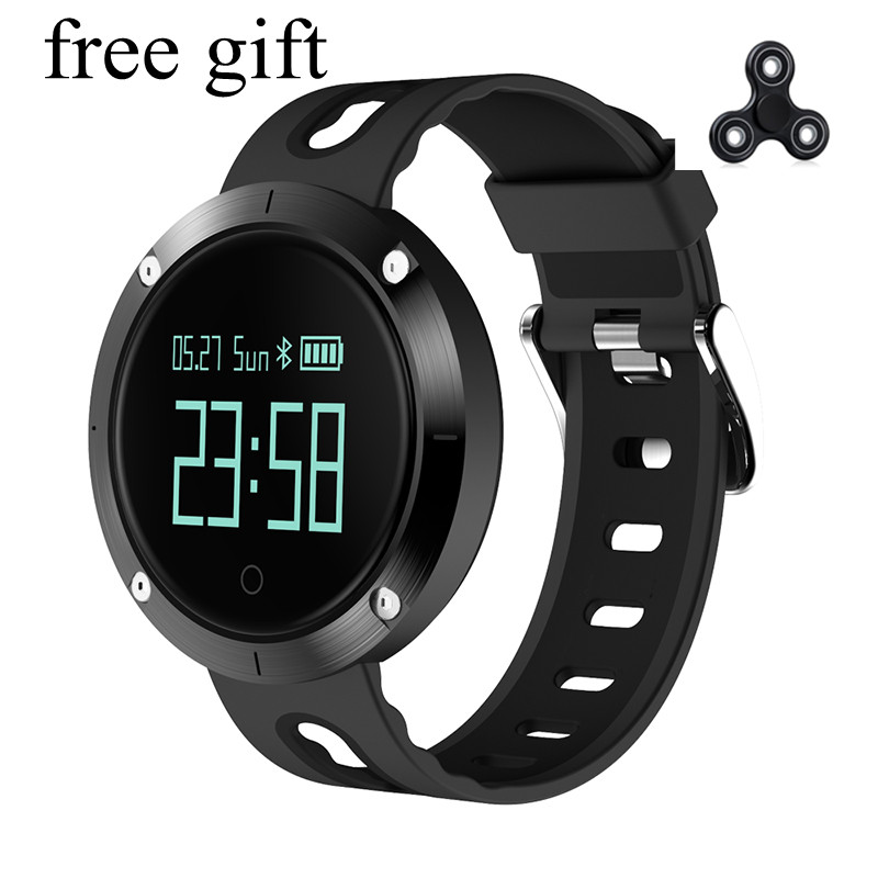 DM58 Smart Bracelet IP68 Waterproof Blood Pressure Heart Rate Monitor Call Reminder Sports Smart tracker PK GT08 DZ09 mi 2 band makibes dm58 smart bracelet blood pressure heart rate monitor ip68 waterproof call reminder activity tracker smart band