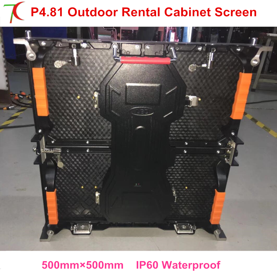 High discount P4.81 outdoor 500*500mm waterproof die-casting aluminum cabinet display , SMD,13scan,43624dot/sqmHigh discount P4.81 outdoor 500*500mm waterproof die-casting aluminum cabinet display , SMD,13scan,43624dot/sqm