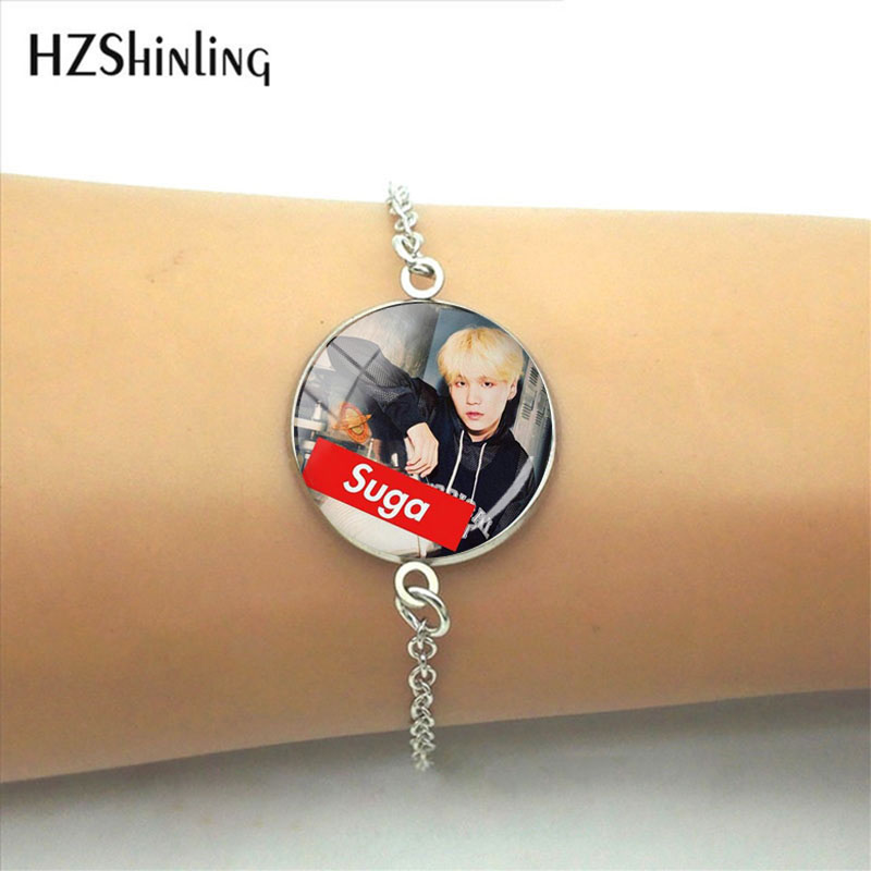 Zhimin Bracelet Korean Concise Tide Student Necklace Woman Clavicle Chain Kpop Bts Bt21 Accessories Letter Bracelet Necklace Goods Of Every Description Are Available Toys & Hobbies