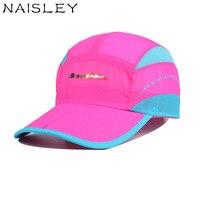 NAISLEY Adjustable Size Quick Drying Mesh Cap Baseball Cap Men Or Women Casquette Snapback Hat Outdoor