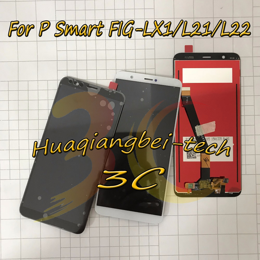 5.65'' New For Huawei P Smart FIG-LX1 / FIG-L21 / FIG-L22 Full LCD DIsplay + Touch Screen Digitizer Assembly 100% Tested