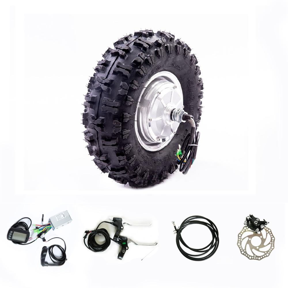 """48v 1000w 13"""" Off  road Tyres Hub Motor Kit Electric Bicycle Accessories 36v 48v 800w 500w  Electric ATV DIY PartsElectric Bicycle Motor   -"""