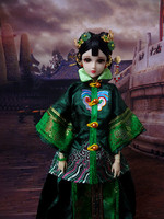 Collectible Chinese Dolls Traditional 1/6 Girl Doll With Flexible 12 Joints Body Birthday Christmas Gifts Souvenir