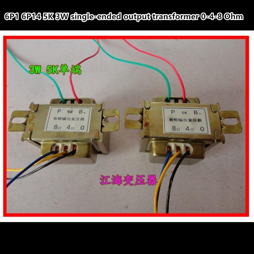 5 k 3 w Single-ended 6P1 6P14 tube amp sortie audio transformateurs d'importation Z11 sortie de 0- 4-8 Ohm 1 pcs