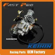 Кабель Дросселя 30 мм PZ30 Карбюратор KEIHIN Мощность Джет Ускорительного Насоса Для 200cc 250cc Мотокросс Мотоцикл Байк