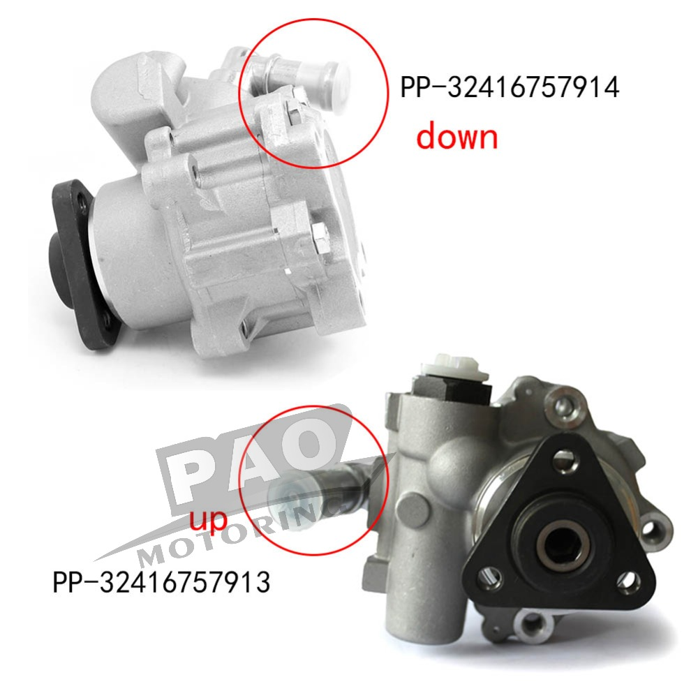 New Power Steering Pump Fit For BMW X5 E53 4.4L & 4.6L 4.8 is OEM 32416757913,32416757913,32416756737