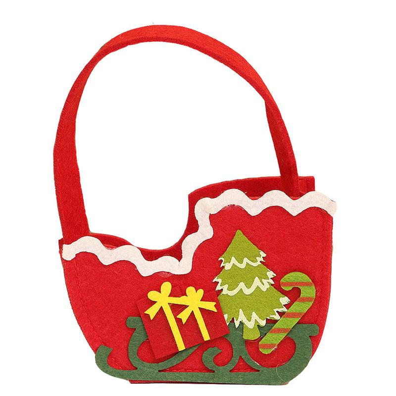 New Year Party Christmas Decoration Supplies Children Candy Bag