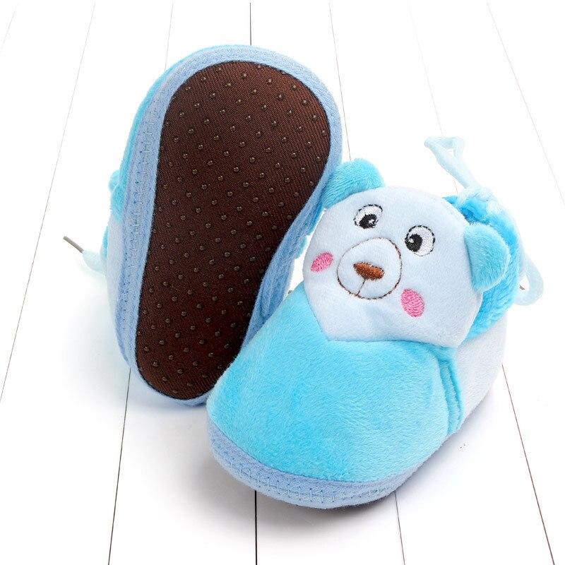 Indoor First Walkers Baby Shoes Cotton Anti-slip Booties Winter Wammer Baby Girl Boy Shoes Newborn Slippers Footwear Booties (6)