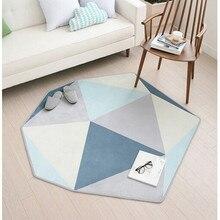 Скандинавские современные персонализированные геометрические формы гостиной ковер дома простой прикроватной тумбочке спальня журнальный столик диван пол коврик
