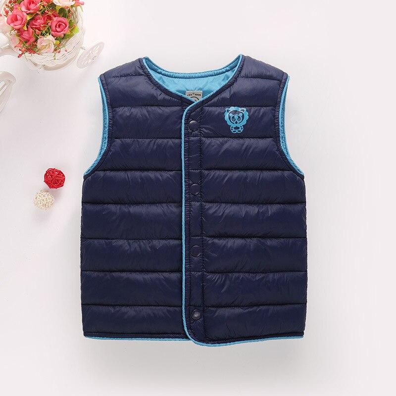 Sıcak Satış Moda hafif Kış Erkek Kız Yelek Chindren Giyim Mont Yeni Pamuk Sıcak Bebek Kızlar Ceketler Çocuk Yelek
