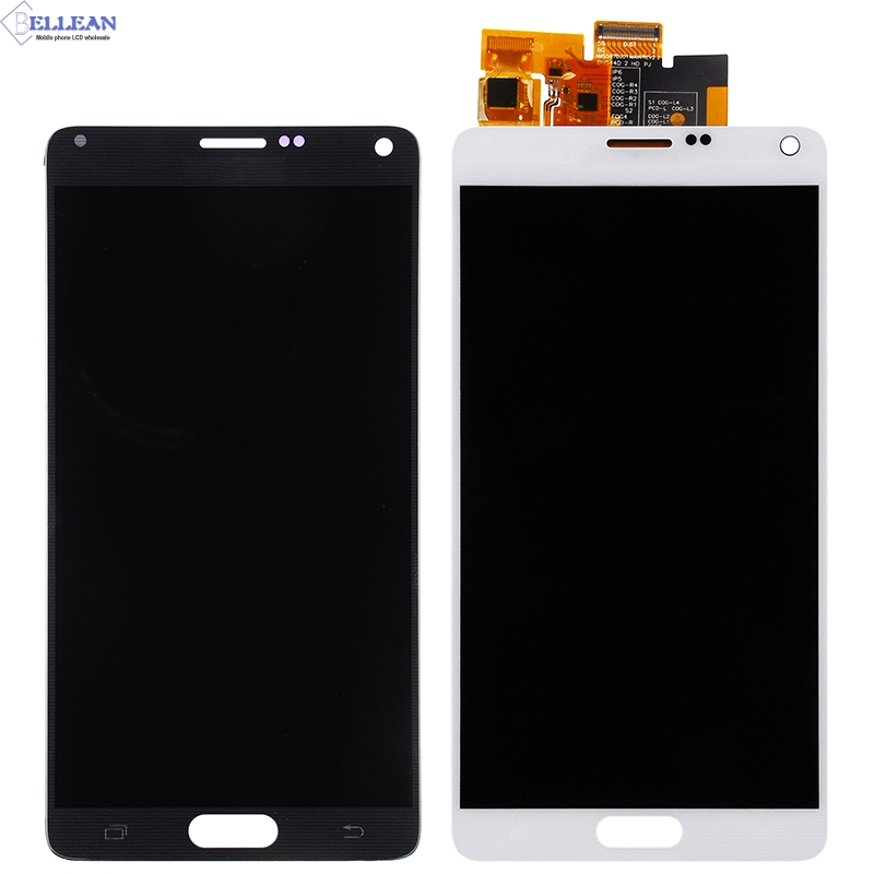 Catteny 1Pcs N910 LCD For Samsung Galaxy Note 4 Lcd N910A N910F N910H Display Touch Screen Digitizer Assembly Free Shipping