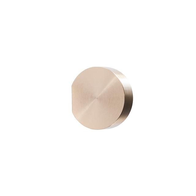 Unique solid brass Cabinet Knob Handle Dresser Knobs Gold Brass Drawer Pulls Handles Modern Simple Knob Kitchen Knobs 5