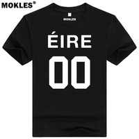 IRELAND T Shirt Custom Name Number Fashion Tees Pure Color Irl T Shirt Nation Flag Tops