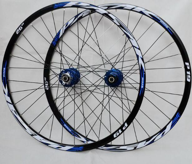 PASAK MTB Mountain Bike Bicycle front 2 rear 4 sealed bearings hub wheel wheelset Rims free shipping 26er mountain bike hub bicycle wheel 4palin bicicleta ultraleve vara de pode ser removido rapidamente