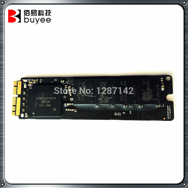 Calidad original 2013 2014 a1502 a1465 a1466 a1398 128 gb ssd para macbook pro retina 13 ''15'' aire 11 ''13''