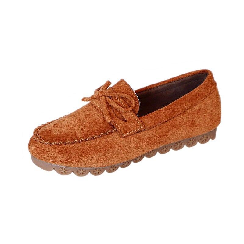 Vent Confortables Mode Profonde marron Nouvelle Britannique coréen Chaussures Doux Rétro Bouche Sauvages rose Collège Femmes De rouge Fond Peu Plat Beige noir f7x4SwCq