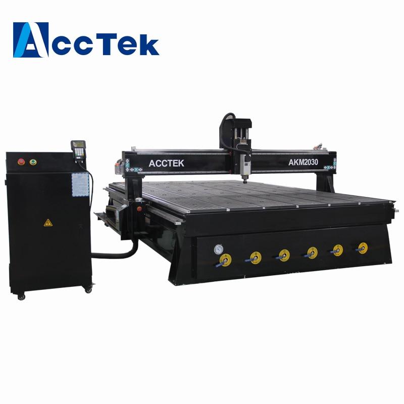 Cnc software livre de madeira máquina de corte cnc para móveis cama 2030 grande roteador cnc máquina de gravura para venda