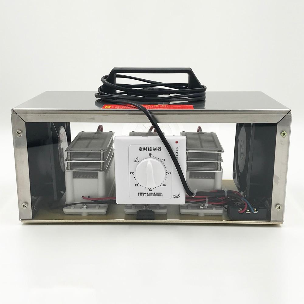 Purificateur d'air de machine d'ozonateur de générateur d'ozone de 50g 220V-in Purificateurs d'air from Appareils ménagers    2