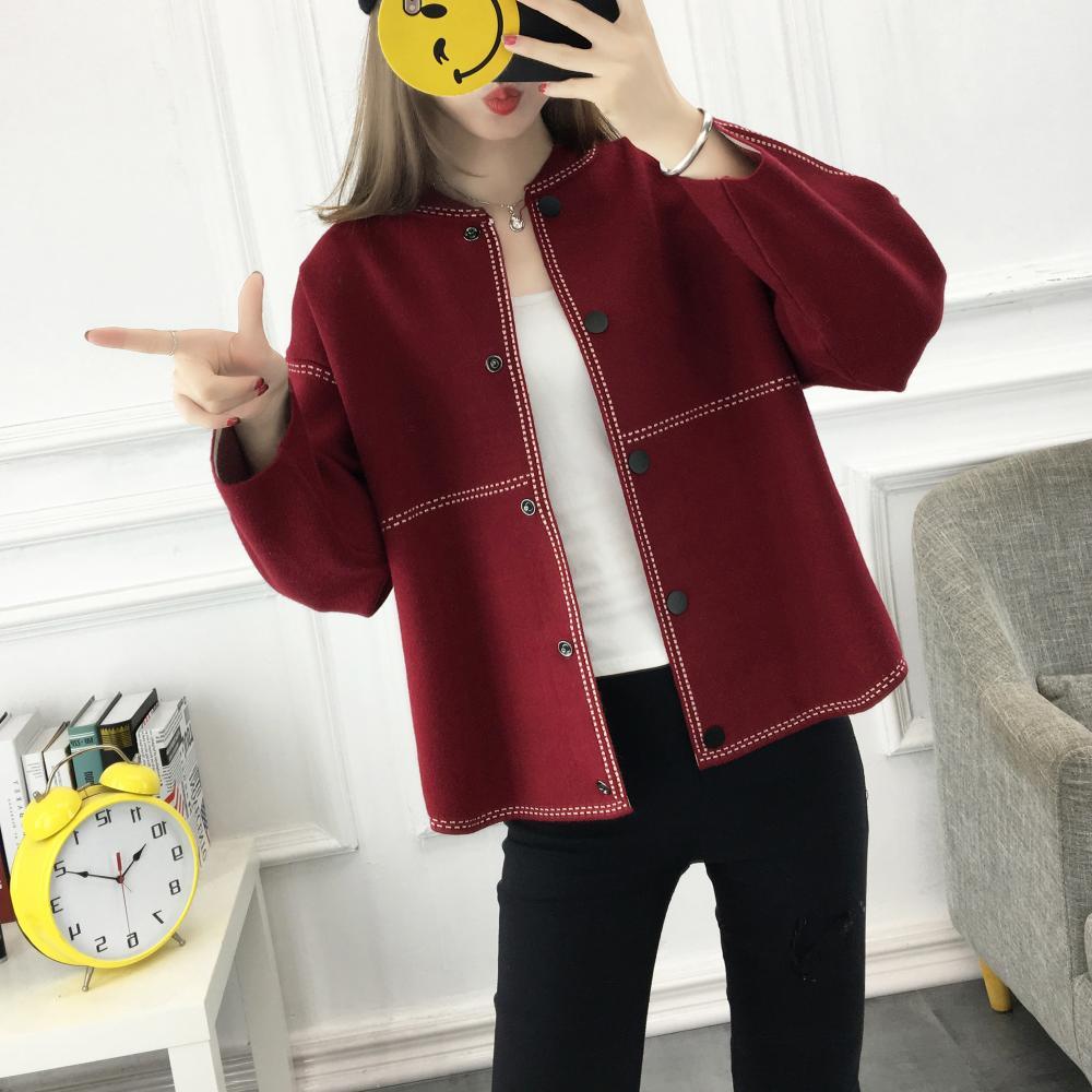 jackets women spring autumn winter 2017 feminina fashion thin good quality new cardigan short coats female A4442
