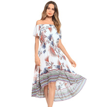 Buy print dress border and get free shipping on AliExpress.com 84f1301cdeb4