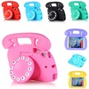 Free Shipping Shockproof Silicone Kid Baby Safe Case For IPad Mini 1 2 3 4 Cartoon